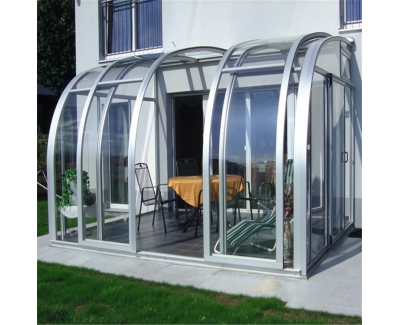 Sliding Greenhouse Luxury ...
